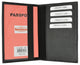 351 PU USA Print Passport Case Holder Cover with credit card slots-[Marshal wallet]- leather wallets