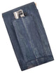 Waterproof Eel Skin Genuine Leather Sliding Cigarette Case Lighter Holder  EW131-[Marshal wallet]- leather wallets