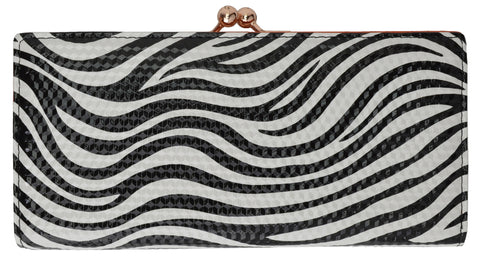 Zebra Pattern Ladies Wallet 113 1086 ZEBRA