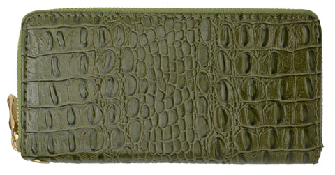 Croco Texture Ladies Wallet 126 11876 1