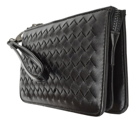 Woven Design Wristlet Ladies Wallet 0196 (0577 2)