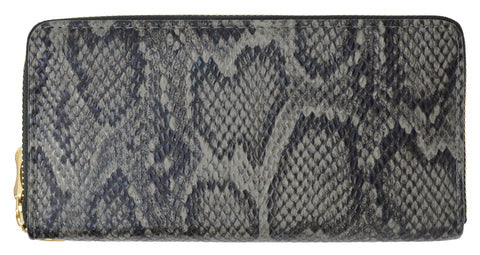 Snake Design Zip Around Ladies Wallet 126 11876 6