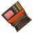 Multicolor Ladies Wallet 113 933 MULTICOLOR-[Marshal wallet]- leather wallets