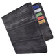 Eel Skin Waterproof Hipster Bifold Credit Card ID Mens Wallet EW711-[Marshal wallet]- leather wallets