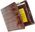 100% Genuine Eel Skin Bi fold Mens Wallet E 709