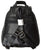 New Small Women's Black Leather Zippered Backpack Style Purse Handbag 128 F 006