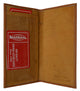 Check Book Covers 156 CR-[Marshal wallet]- leather wallets