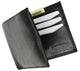 Genuine Premium Lamb Leather Credit Card Slim Design Bifold Wallet P58-[Marshal wallet]- leather wallets