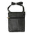 Unisex Cross Body Genuine Leather Bag 801 BK