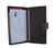 Genuine Leather Basic Checkbook Holder with Snap Closure 157
