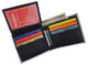 Classic $100 Bill Men's Genuine Leather Bifold Multi Card ID Center Flap Wallet 1246-20-[Marshal wallet]- leather wallets