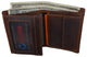 Brand New Cazoro RFID Bifold Trifold Hybrid Mens Distress Vintage Leather Wallet 610457RHU-[Marshal wallet]- leather wallets