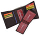 RFID Cow Napa Leather Trifold Credit Card Removable ID Windows Mens Wallet RFIDCN1107-[Marshal wallet]- leather wallets