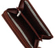 4575GT Womens Wallet Genuine Leather Double Zip Around Phone Clutch Large Travel Purse Ladies Wallet