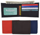 New Nylon Slim Compact Boys ID Card Bifold Wallet T200-[Marshal wallet]- leather wallets