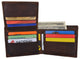 Bifold Mens RFID Cowhide Leather Myrtle Beach Flap Card ID Wallet /53HTC Myrtle Beach-[Marshal wallet]- leather wallets