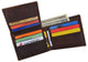 Los Angeles Mens RFID Genuine Leather Card ID Bifold Wallet /53HTC Los Angeles-[Marshal wallet]- leather wallets