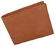 Bifold Men's RFID Blocking Genuine Leather Credit Card ID Wallet / RFID53GT-[Marshal wallet]- leather wallets