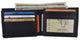 Bifold Mens Genuine Leather Multi-Card ID Holder Wallet by Cavelio 402659-[Marshal wallet]- leather wallets