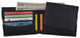 Cavelio Leather Men's Bifold Credit Card Removable ID Wallet 404553-[Marshal wallet]- leather wallets