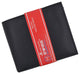 Mens RFID Leather Multi Credit Card ID Snap Bifold Wallet with Coin Pouch RFIDCN576-[Marshal wallet]- leather wallets