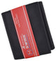 RFID Trifold Premium Leather Mens Card Holder Wallet W/ Outside ID Window RFIDCN1355-[Marshal wallet]- leather wallets