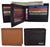 Men's RFID Security Blocking Premium Leather Extra Capacity Card ID Bifold Wallet RFIDGT52LGP-[Marshal wallet]- leather wallets