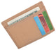 Men's Minimalist Slim Thin Front Pocket Credit Card ID Holder Leather Wallet 404370-[Marshal wallet]- leather wallets