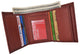 Aquarius Zodiac Sign Bifold Trifold Genuine Leather Men's Wallets-[Marshal wallet]- leather wallets