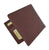 Mens Genuine High Quality Leather ID Card Holder Classic Design Slim Bifold Wallet by Cavelio 730060