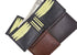 Cavelio Genuine High Quality Leather Mens Bifold Wallet with Removable ID Card Holder 730534