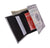 $100 Bill Men's Genuine Leather Credit Card ID Holder Trifold Wallet with Middle Flap 1346-16-[Marshal wallet]- leather wallets