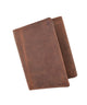 New RFID Blocking Mens Vintage Soft Genuine Leather Classic Trifold Wallet  RFID1107HTC-[Marshal wallet]- leather wallets