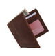 RFID Blocking Men's Vintage Genuine Leather Slim Bifold Wallet RFIDP60HTC-[Marshal wallet]- leather wallets