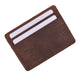 RFID Blocking Slim Vintage Look Leather Wallet Credit Card Case Sleeve Card Holder Thin Wallet RFID170HTC-[Marshal wallet]- leather wallets