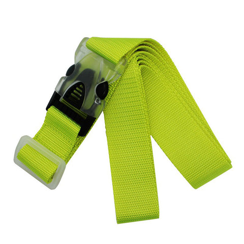 Luggage Strap Florescent Yellow for Travel VS SKS 001