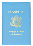 New Travel passport cover credit card holder wallet by Marshal® 601 PU USA