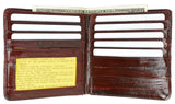 Eelskin Leather Hipster Men's Wallets E 711