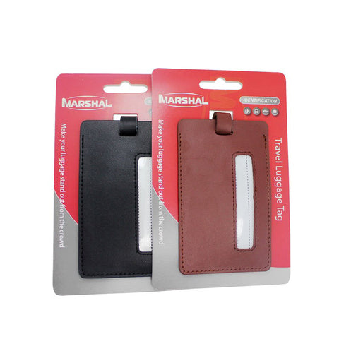 Leather Travel Luggage Tag VS SKT 006
