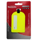 Neon Yellow Sliding Luggage tag VS SKT 003-[Marshal wallet]- leather wallets