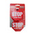 Stop Sign Tag Red Luggage Tag VS SKT 002