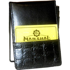 Notepad 597-[Marshal wallet]- leather wallets