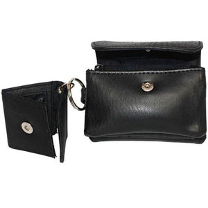 Change Purses 6324-[Marshal wallet]- leather wallets
