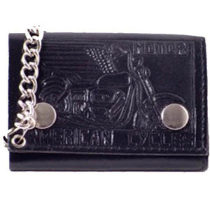 Chain Wallet 946 10-[Marshal wallet]- leather wallets