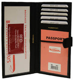 Passport, Ticket & Credit Card Organizer RFID 562
