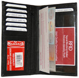 Checkbook, Card Holder & ID Holder RFID 853