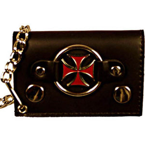 Chain Wallet 1046 8-[Marshal wallet]- leather wallets