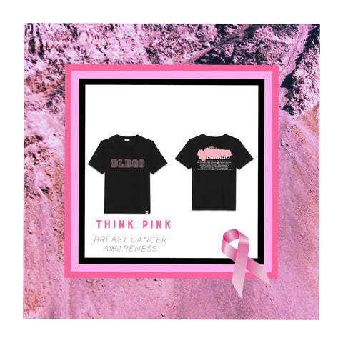 """Think Pink"" Unisex T-shirt (Breast Cancer Awareness)"