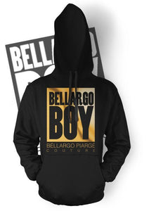 """Bellargo Boy"" Metallic Pullover"