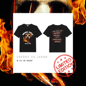 """Freddy vs Jason"" Unisex T-shirt (Limited Edition)"